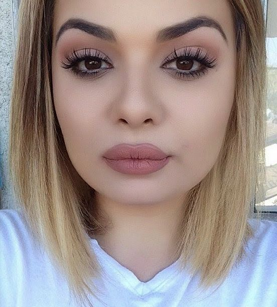 Beautiful Makeup Model