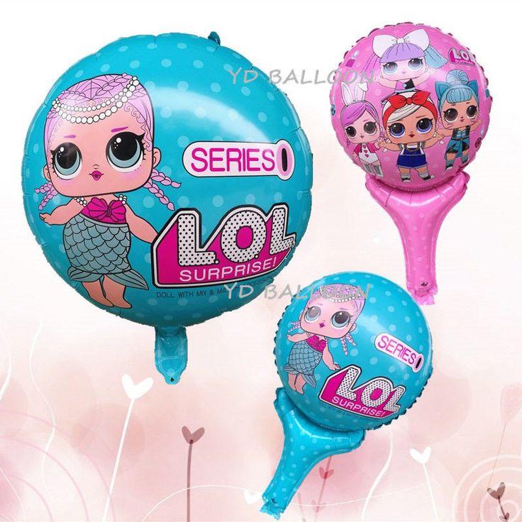 10 pcs LOL Surprise Dolls Balloon Decor Birthday Party Xmas Inflatable Toys   eBay