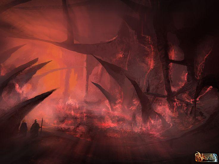 #nohalia #fireclaw #fantasy #darkfantasy #rpg #roleplaygame #paintings #digitalart #digitalpainting #art #landscape