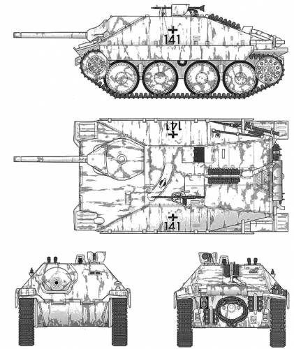 PanzerJager 38T Hetzer  ~ Vengeance_Lord