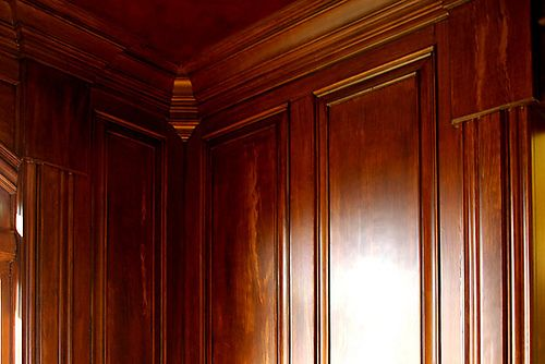 Natural Wood Wainscoting And Paneled Walls Pinterest
