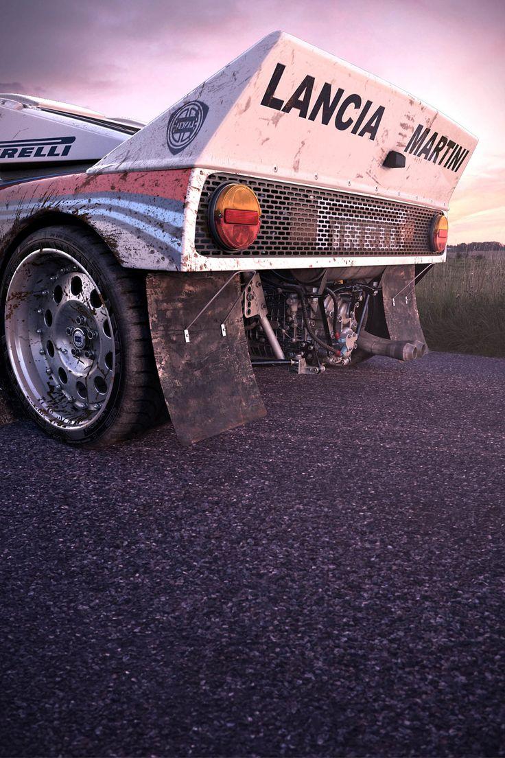Lancia 037 - Marcas de trabalho