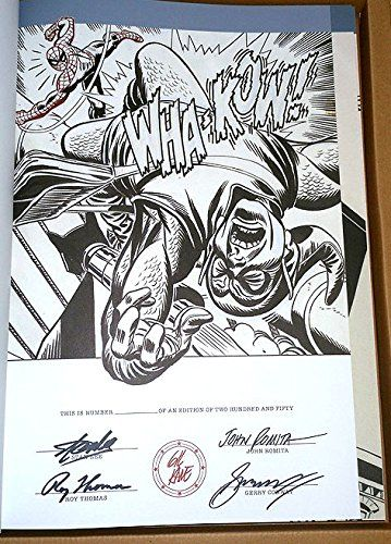 Amazing Spider-Man Gil Kane's Exclusive 2013 WonderCon Artist Edition Signed x 4 Only 250 Produced IDW. Exclusive WonderCon 2013 Signed & # Artist Edition. Signed by Stan Lee + others. Signed by 4 Comic Book Legends. Artist: John Romita, Roy Thomas and Gerry Conway Stan Lee. Factory sealed and unopened. Limited to only 250 produced.