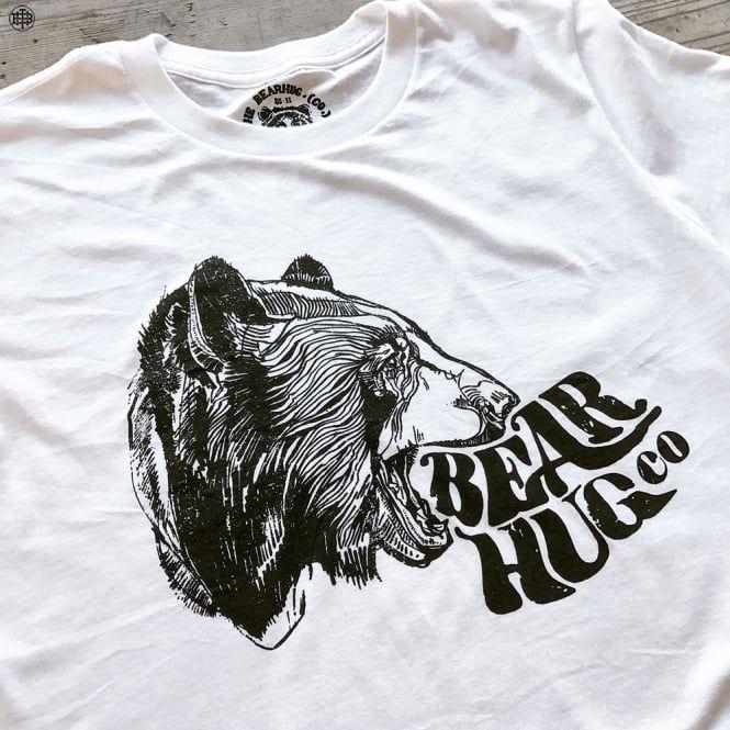 Bear Mouth - White T-Shirt
