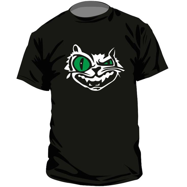 T-shirt original : CHAT fou