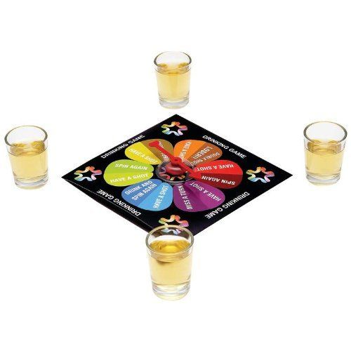 Last Man Standing Spinner Game - Fun 2-Player Drinking Games