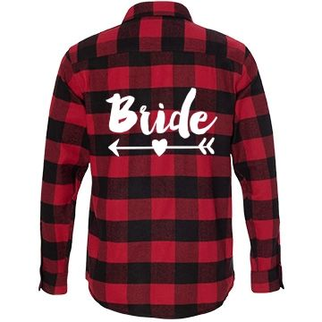 My flannel shirt to wear with my wedding dress