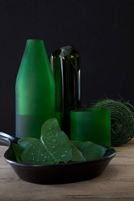 .Green Vignette.               t