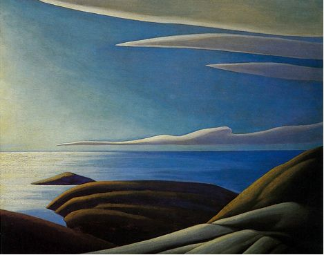 Lawren Harris Paintings | Lawren Harris, Lake Superior III