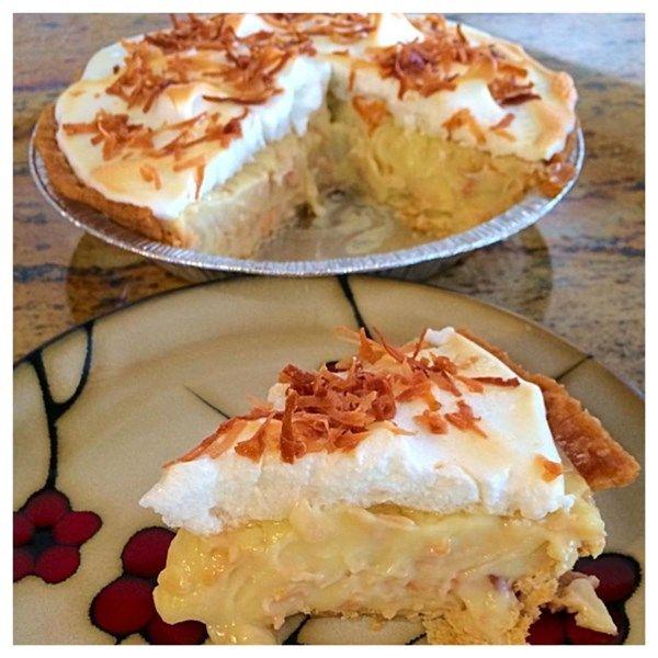 Coconut Cream Pie |