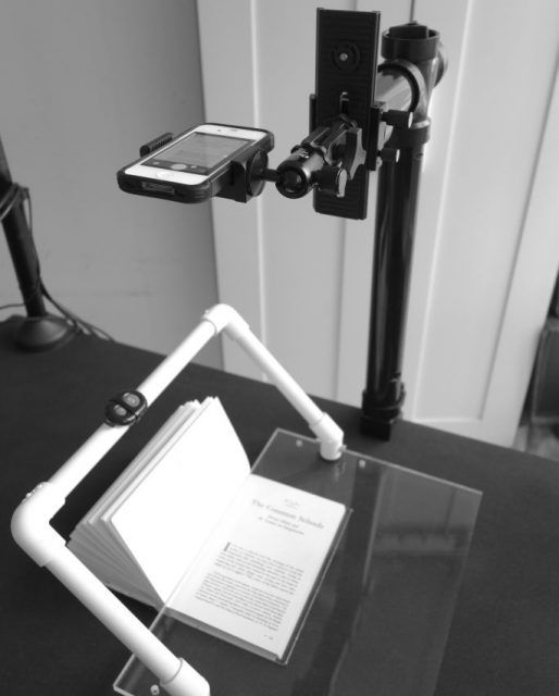 DIY project: turn your smartphone into a scanner that converts paper books into ebooks
