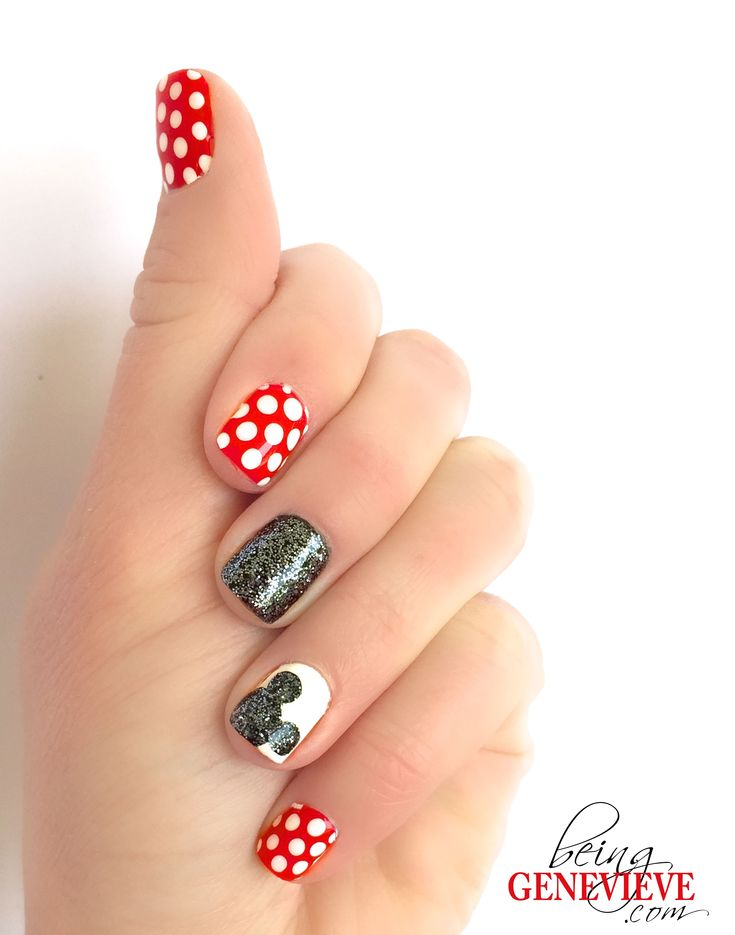 Magical mickey mickey silhouette disney nails art and disney nails prinsesfo Gallery