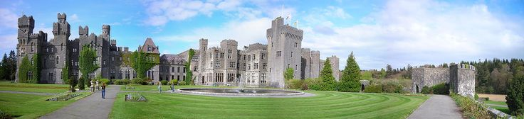Ashford Castle - on the border of County Mayo & County Galway - Ireland