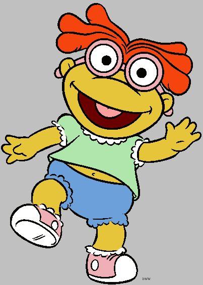 Baby Skeeter - Muppet Babies