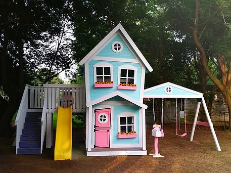 72 best casitas para ni as images on pinterest doll for Casita plans for backyard