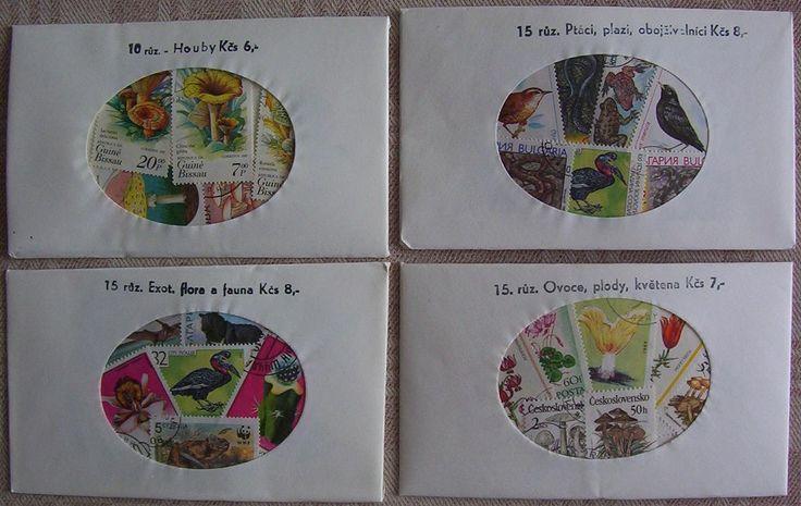 Balíčky s poštovními známkami