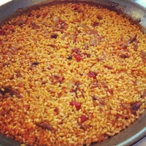 Arroz Berlanga en #LaBombaBistrot #madrid | Platos | Pinterest | La vuelta, Rice bar and Gourmet