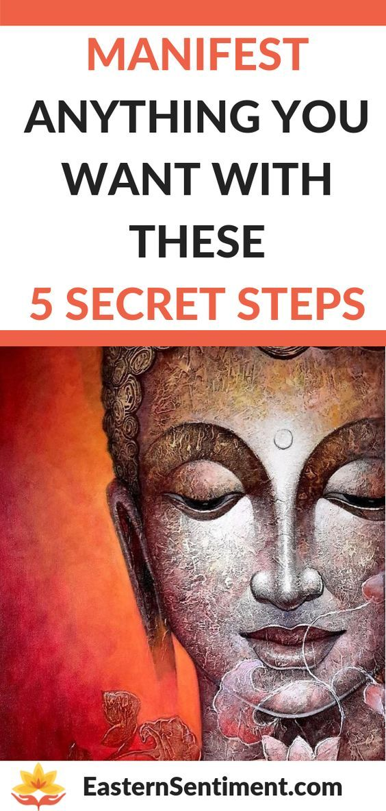 Manifest Anything You Want With These 5 Secret Steps