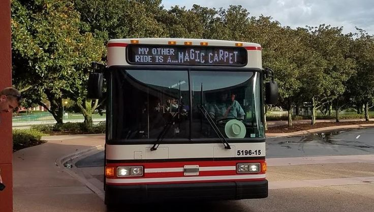 New Express Bus Transportation Option at Disney World
