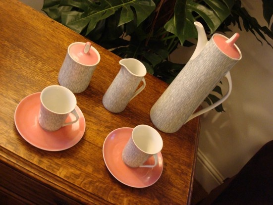 Love - Cmielow coffee set from the 1950s
