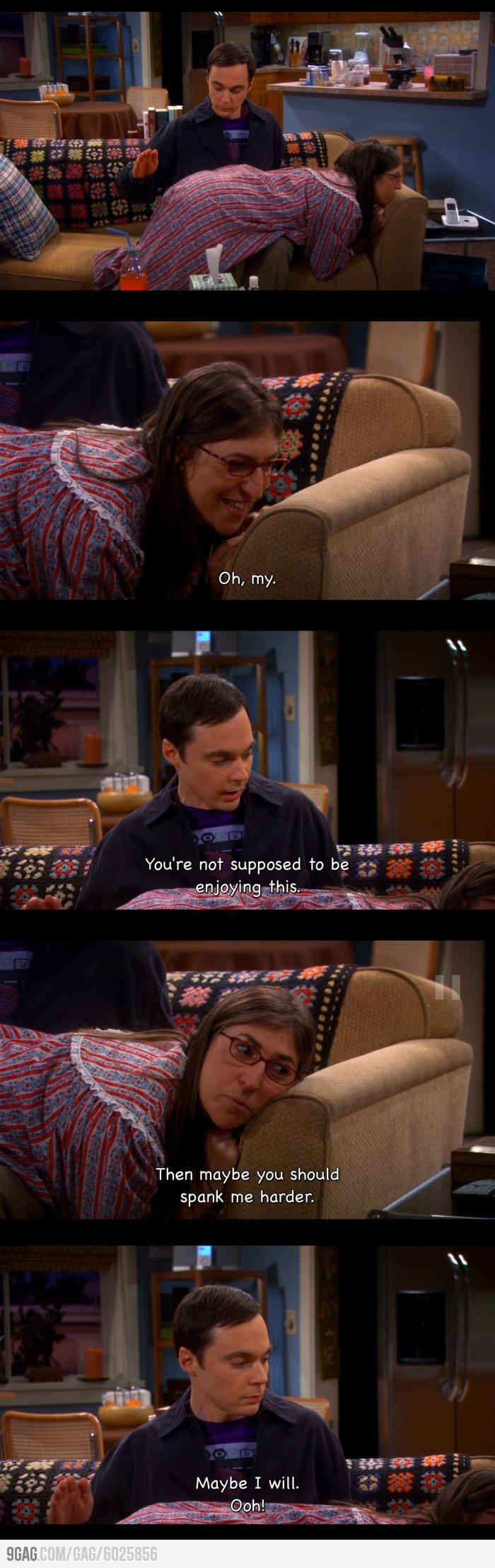 I saw this the other night! Hilarious! I live Sheldon & Amy farrowfowler!