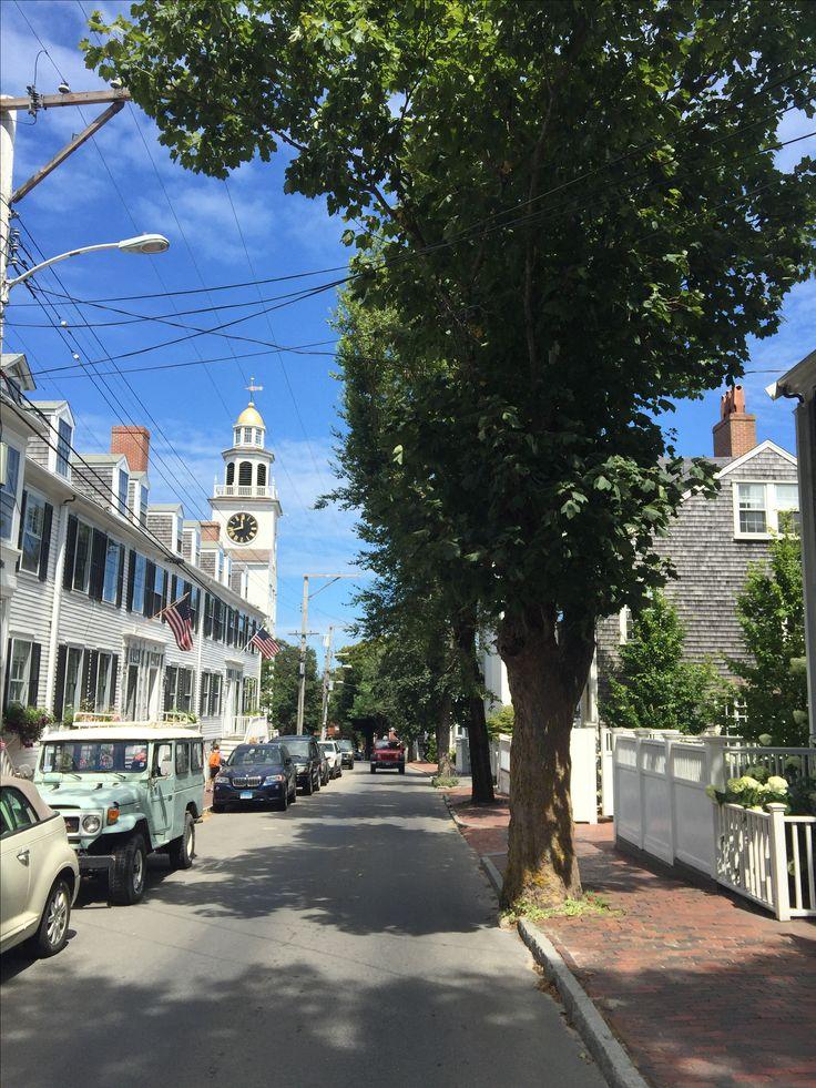 Streets of Nantucket Island