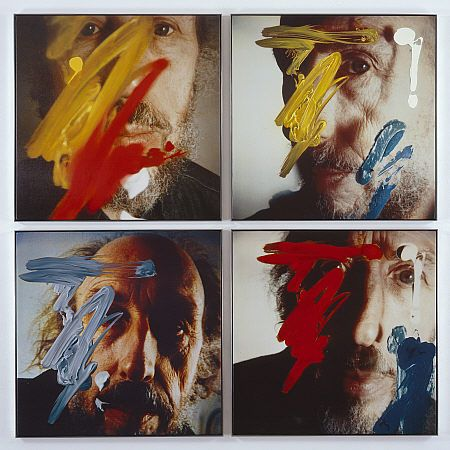 Richard Hamilton I like this idea of taking a photography and then adding to it with paint, building upon your self to create more of a sense of yourself