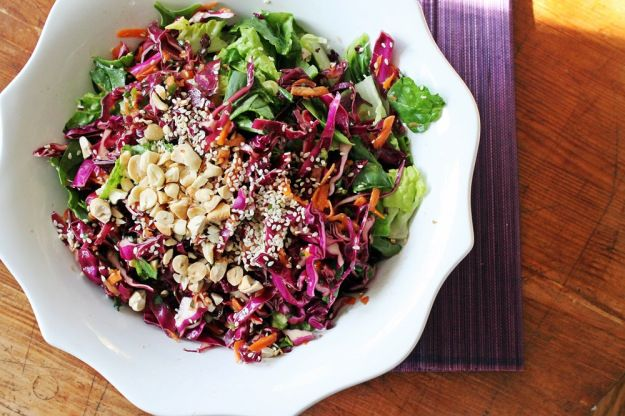 peanut carrot slaw with pin it peanut carrot and cabbage carrot peanut ...