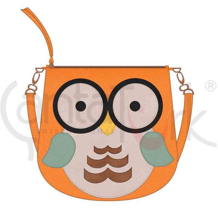 Baykuş Tasarımlı Çanta