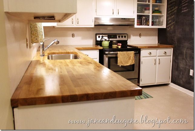 Installing Butcher Block Countertops Dream Cottage
