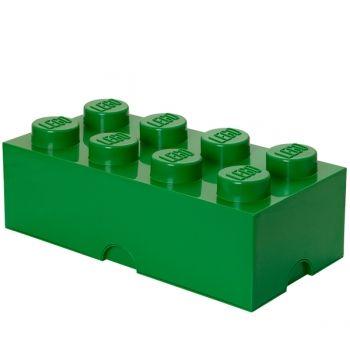 Lego Storage Brick 8, green