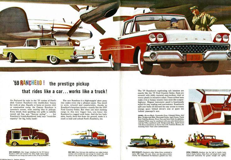 Vintage 1939 Ford Truck V8 Advertisement Poster Man Cave Gift Art Decor