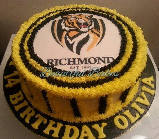 Richmond football club cake