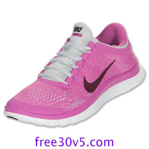 50% Off Nike Frees,Nike Free 3.0 V5 Womens Club Pink Pure Platinum White