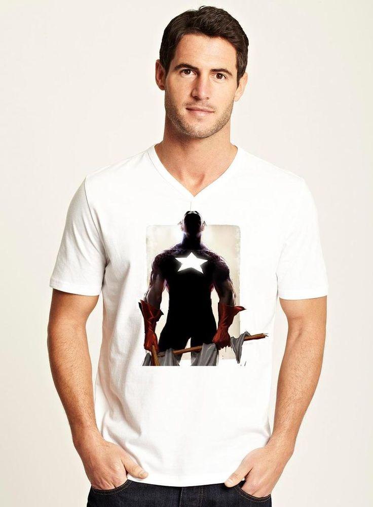 $179.00 Playera Capitan America Designer 2 - Comprar en Jinx