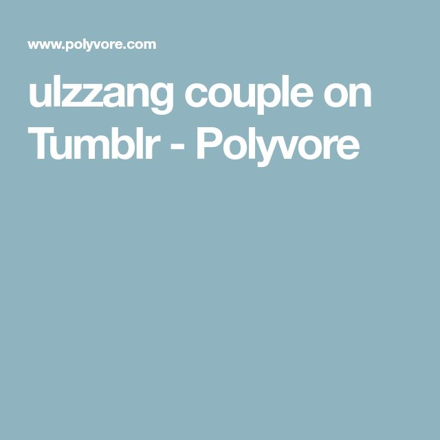 ulzzang couple on Tumblr - Polyvore