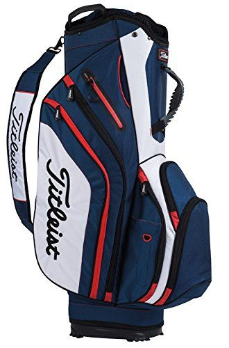 Golf Carts Ideas | Titleist Lightweight Cart Bag 2017 NavyWhiteRed ** For more information, visit image link. Note:It is Affiliate Link to Amazon.