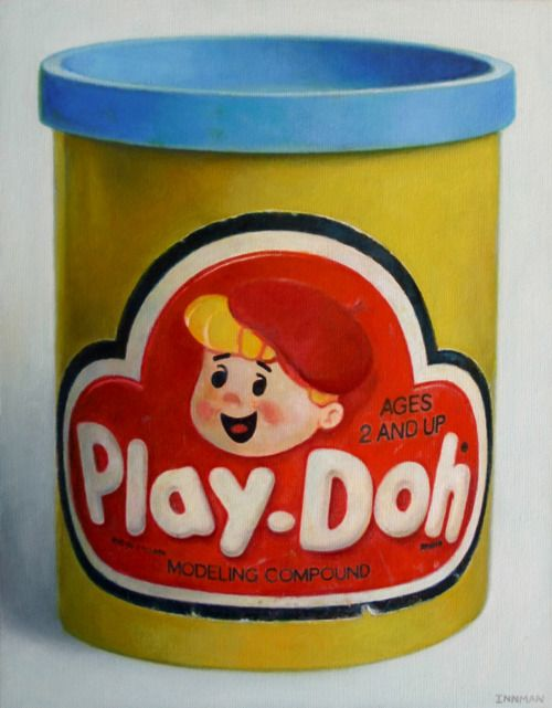 Retro Toys   Play-Doh, I'll never forget the smell.