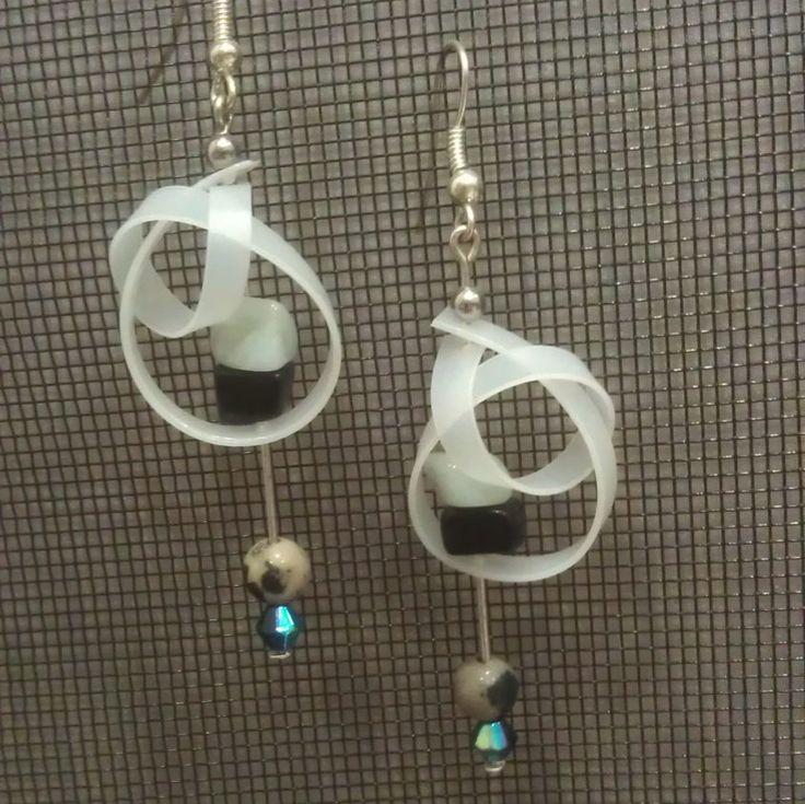 Milk Bottle Earrings by GreyShackStudio on Etsy