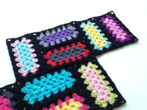 Making A Crochet Mood Blanket From Granny Rectangles! LOVE THIS!!!