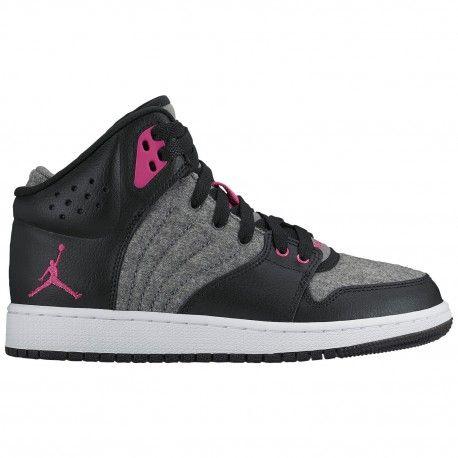 $54.99 #basketballislife #basketballplayer  #basketball #basketballtrainer #bball   cool jordan shoes for girls,Jordan 1 Flight 4 - Girls Grade School - Basketball - Shoes - Cool Grey/Vivid Pink/Black/White-sku http://jordanshoescheap4sale.com/494-cool-jordan-shoes-for-girls-Jordan-1-Flight-4-Girls-Grade-School-Basketball-Shoes-Cool-Grey-Vivid-Pink-Black-White-sku-28245019.html