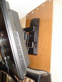 Wall Mount your Flat Screen TV in Your RV Bedroom Tutorial