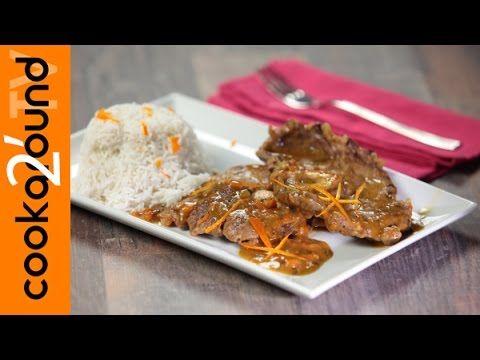 Ossobuco di vitellone all'arancia / Piatto unico con riso - YouTube