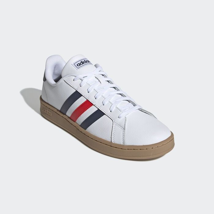 Grand Court Shoes White Mens | Court shoes, Shoes, Adidas