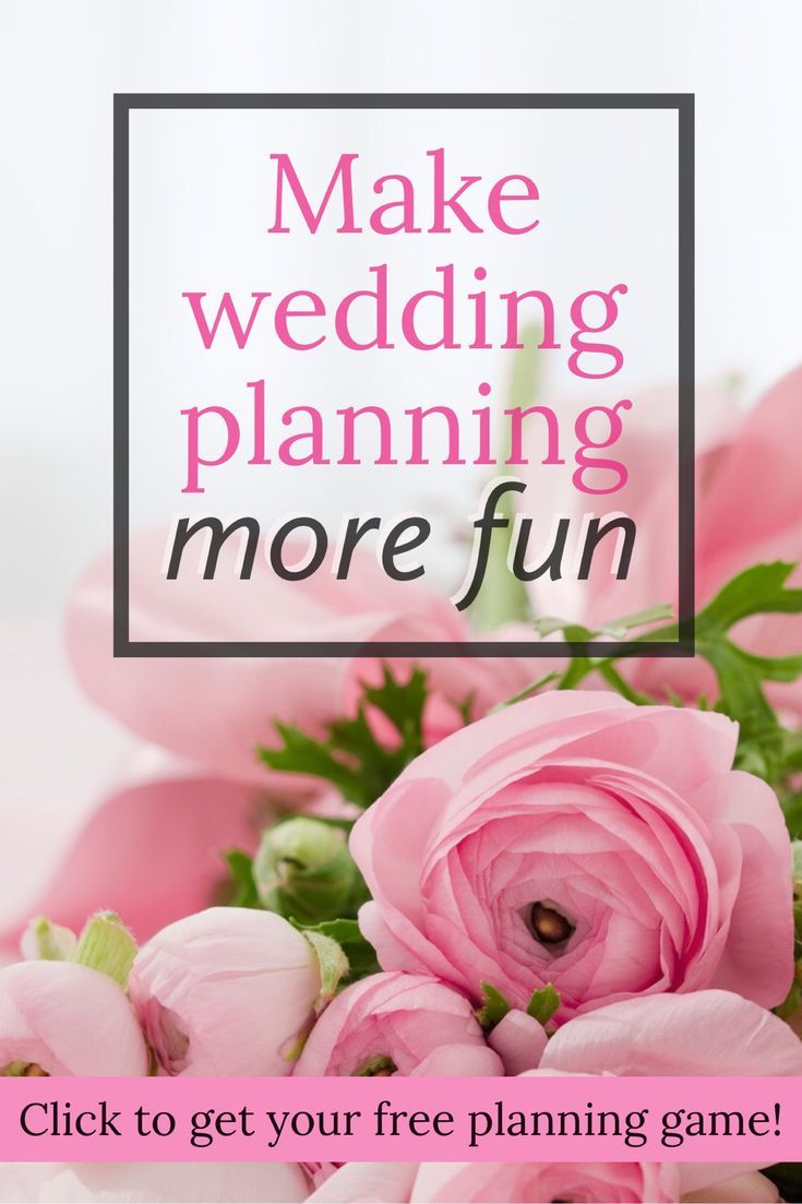 Planning a wedding can really drive you crazy sometimes. Wedding Planning Bingo can't get that vendor to call you back or convince the venue to let you bring in your own caterer, but it can make dealing with those things more fun! It also gives you reason to celebrate the great parts of Planning like when you and your fiancé reach the perfect compromise on your guest list. Click through to get the free printable game and play against your fiancé to see who gets Bingo first! #weddingplanning
