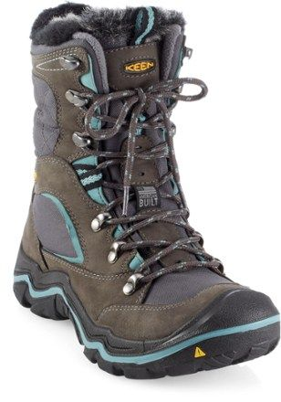 Keen Neve Polar Winter Boots - Women's  Be ready for winter with the insulated and waterproof performance of these American Built boots for women. They keep your feet warm and dry while offering the comfort you expect from Keen boots.