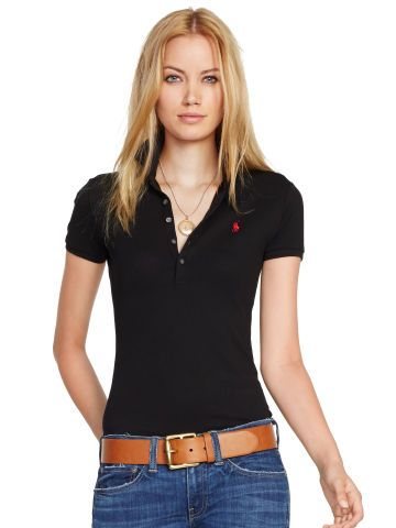 Skinny-Fit Stretch Polo Shirt - Polo Ralph Lauren Polo Shirts - RalphLauren.com