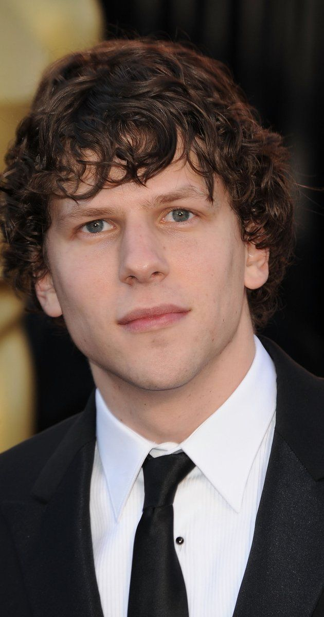 Jesse Eisenberg, Actor: The Social Network. Curly haired and with a fast-talking voice, Jesse Eisenberg is a movie actor, best known for his Academy Award nominated role as Mark Zuckerberg in the 2010 film The Social Network, he has also starred in the films The Squid and the Whale, Adventureland, The Education of Charlie Banks, 30 Minutes or Less, Now You See Me and Zombieland. Additionally, he was cast as Lex Luthor in the 2016 film ...