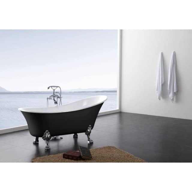 1000 id es sur le th me baignoire acrylique sur pinterest baignoires d cor de baignoire et for Peinture douche acrylique