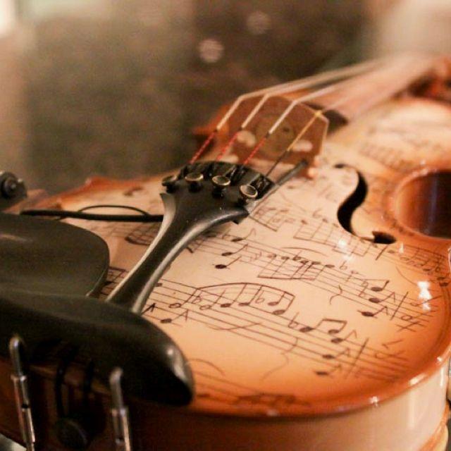 Just a cool violin                                                       …